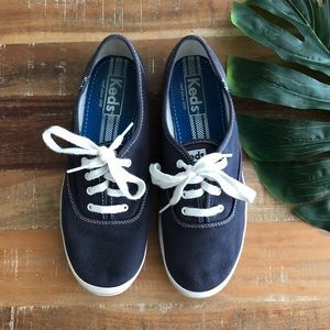 Keds Navy Blue Classic Canvas Sneaker